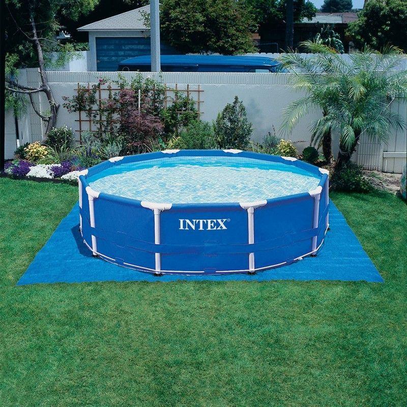 Tapis solaire intex - Filtration piscine hors sol intex ...
