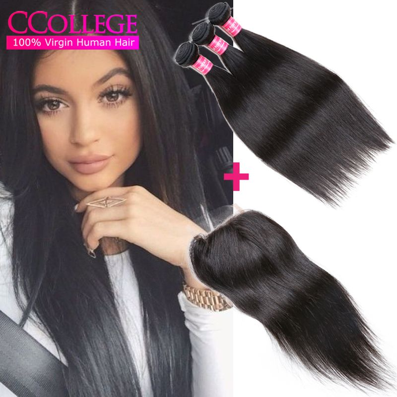 Find More Human Hair Weft with Closure Information about Dream Amazing Hair 3 Bundles Peruvian Straight Hair With Closure 8A Grade Unprocessed Peruvian Virgin Human Hair With Closure,High Quality hair products straight hair,China hair braid clip in Suppliers, Cheap hair lace from CCollege official store on Aliexpress.com