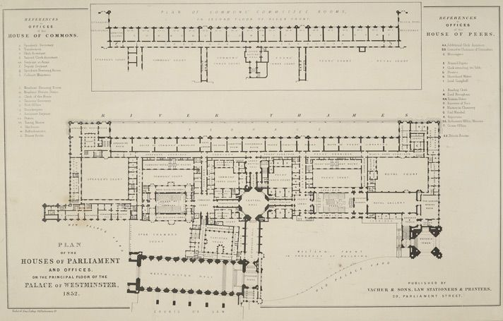 Floor Plan Of The House Commons