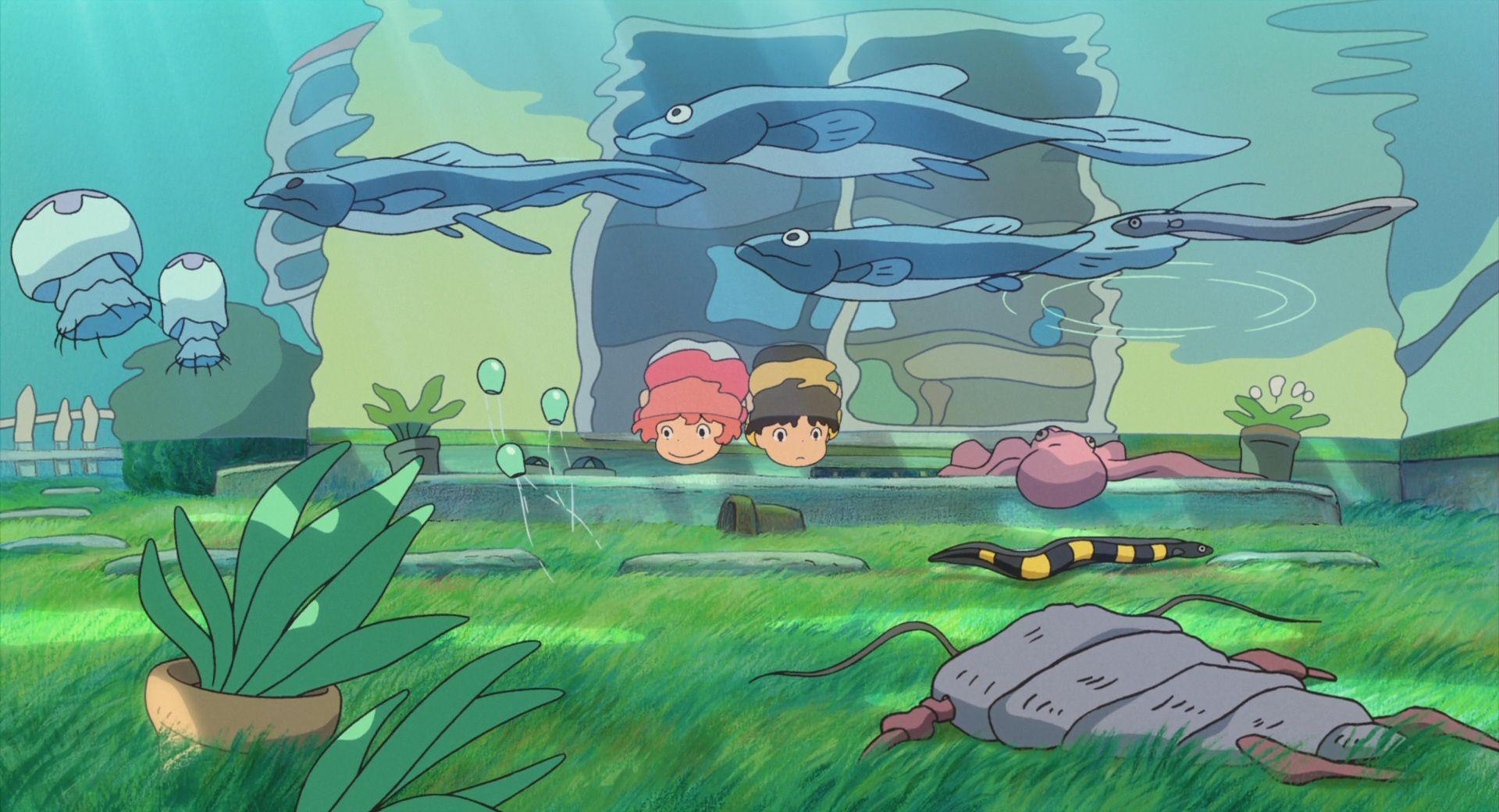 Ponyo Desktop Wallpaper Free Studio Ghibli Movies Ghibli Art Ponyo