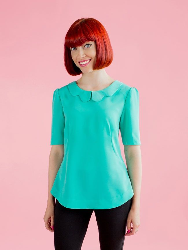 Tilly and the Buttons - Orla Top - Beginner | TOPS/PATTERNS /PEASENT ...
