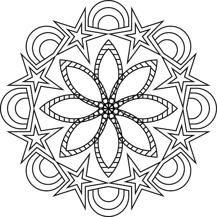 ▷ 1001 + coole Mandalas zum Ausdrucken und Ausmalen | Pinterest ...