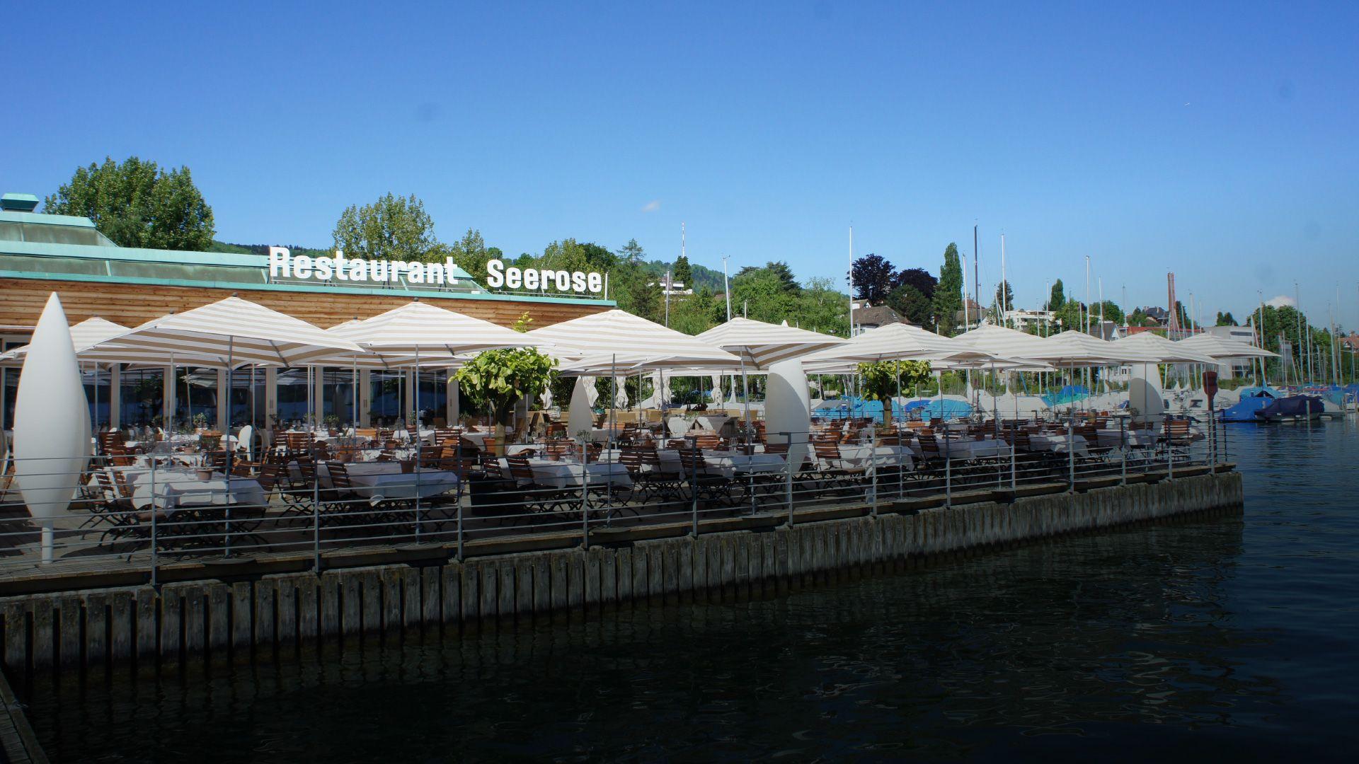 Restaurant Seerose - Einzigartiges Seerestaurant am Zürichsee in Zürich Wollishofen