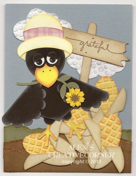 Momma Crow Punch Art