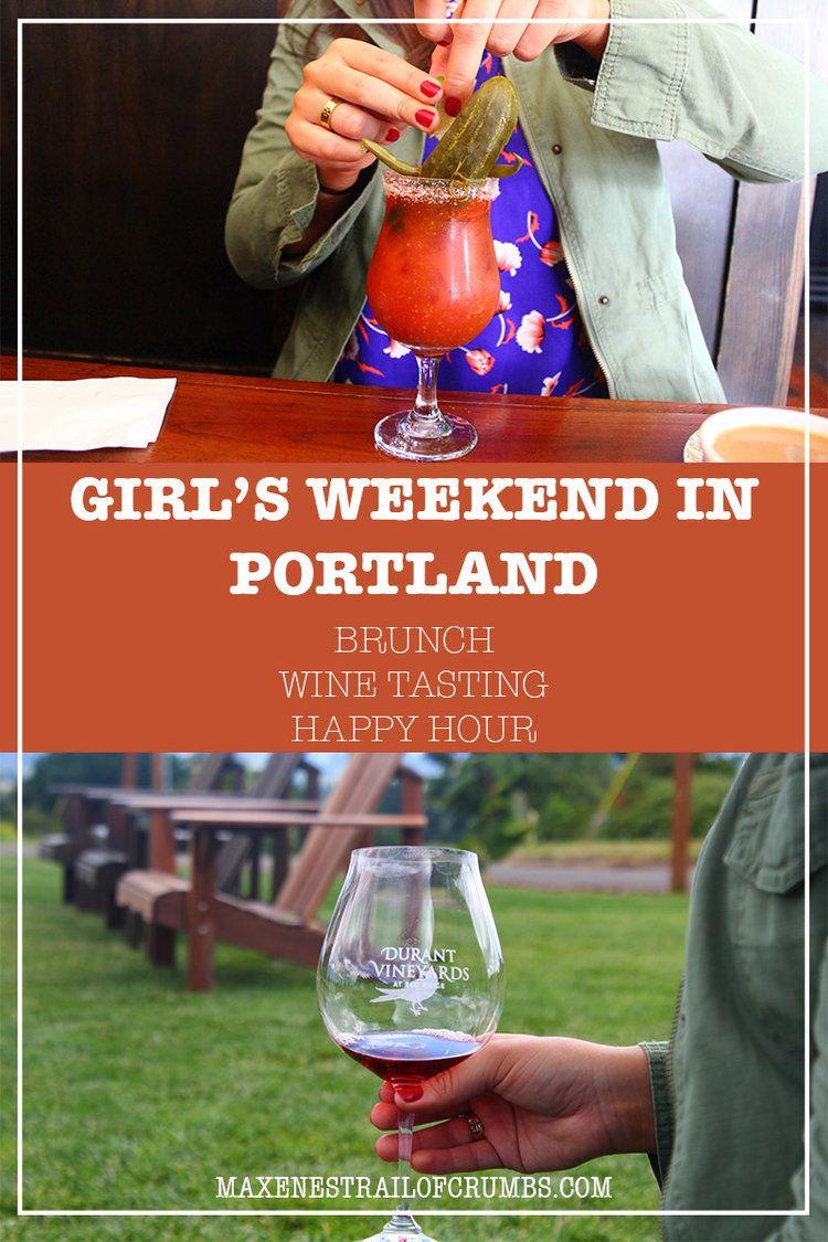Maxene S Trail Of Crumbs Weekend In Portland Wine Tasting Tours Wine Tasting