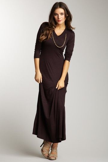 24/7 Comfort Long Sleeve Maxi Dress