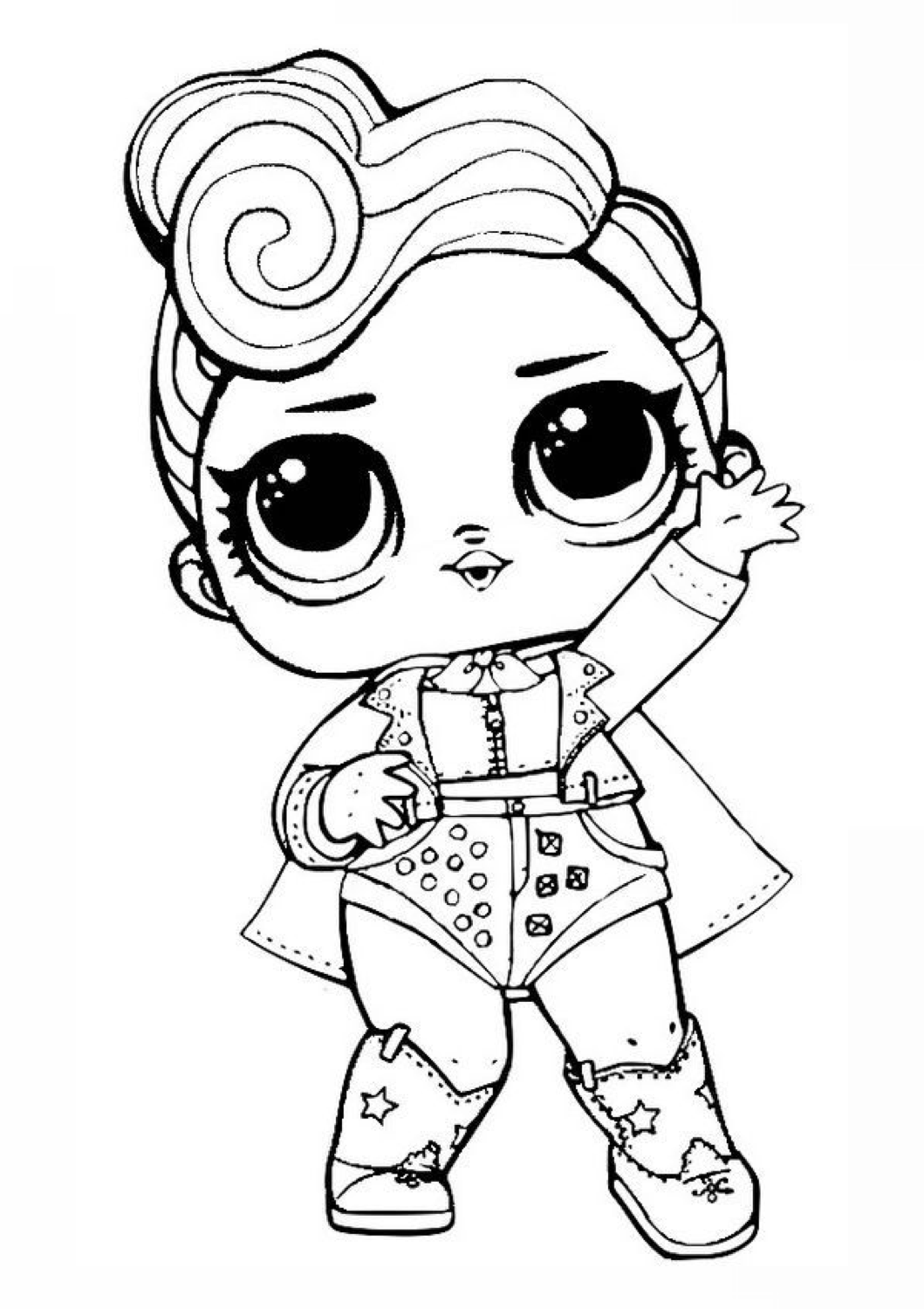 The Queen in 2020 | Coloring pages, Valentine coloring pages, Lol dolls