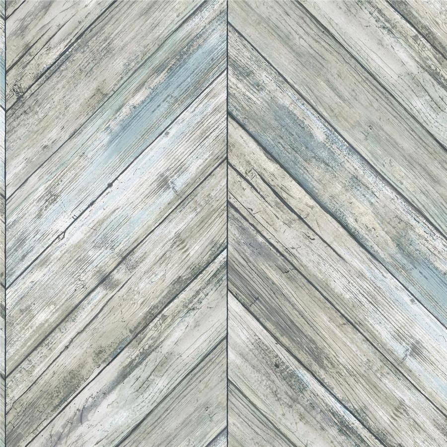 Herringbone Wood Boards Peel And Stick Wallpaper In 2021 Herringbone Wood Brick And Wood Peel And Stick Wallpaper