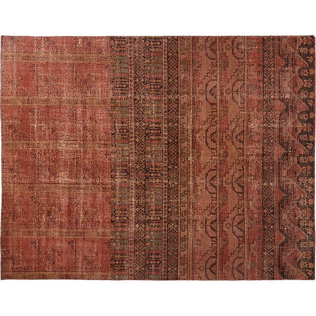 Rubie Handknotted Rug Cb2 In 2020 Hand Knotted Rugs Persian Inspired Rug Rugs