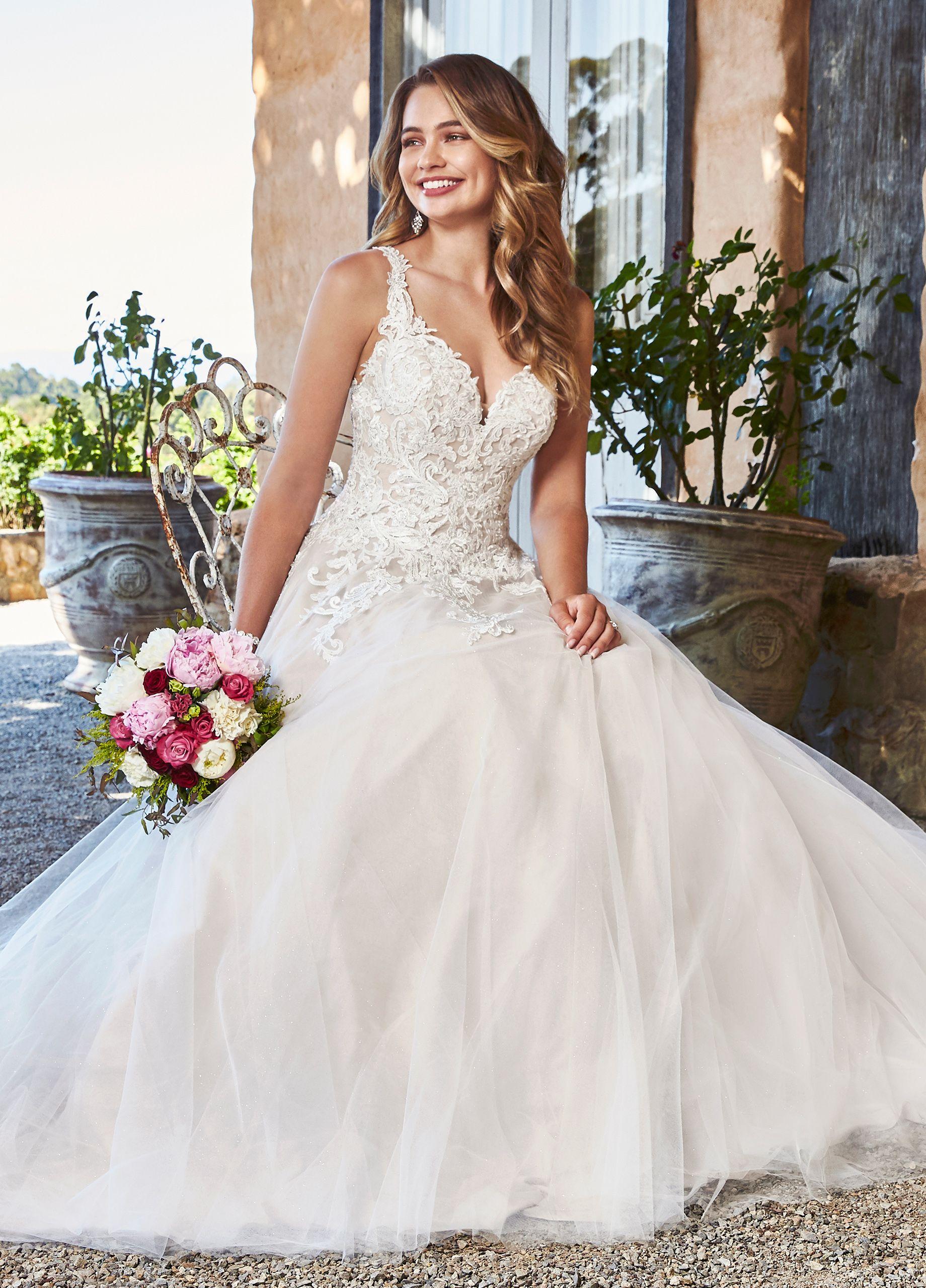 Sophia Tolli Stephanie Sophia Tolli Drop Waist Wedding Dress Bridal Ball Gown Princess Wedding Dresses [ 2560 x 1840 Pixel ]