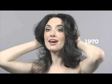Hundert Jahre Schönheit rasen durch 60 Sekunden - YouTube
