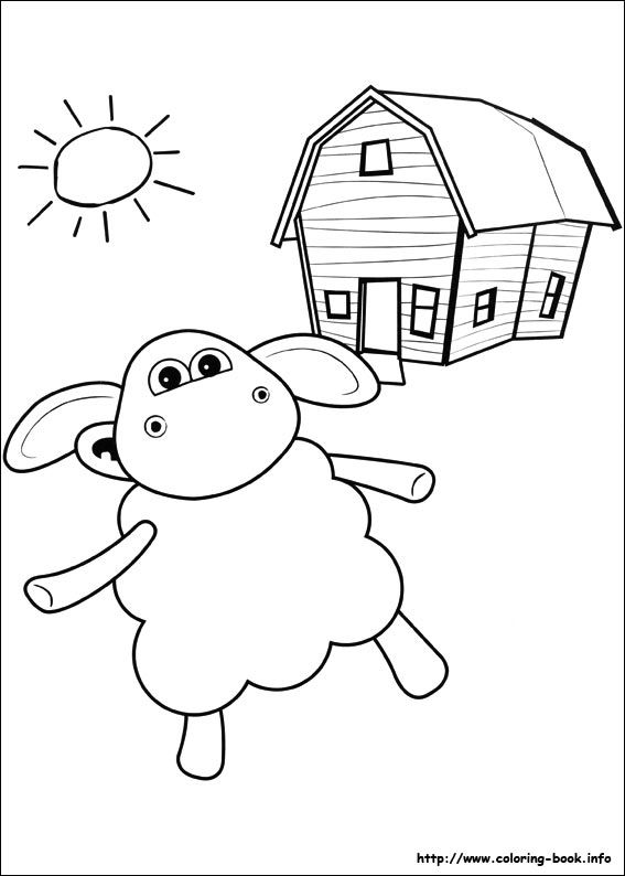 Timmy Time coloring picture | Shaun The Sheep | Pinterest | Colores ...