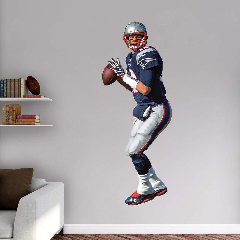 Fathead NFL New England Patriots Tom Brady No. 12 Wall Decal - 12-21618
