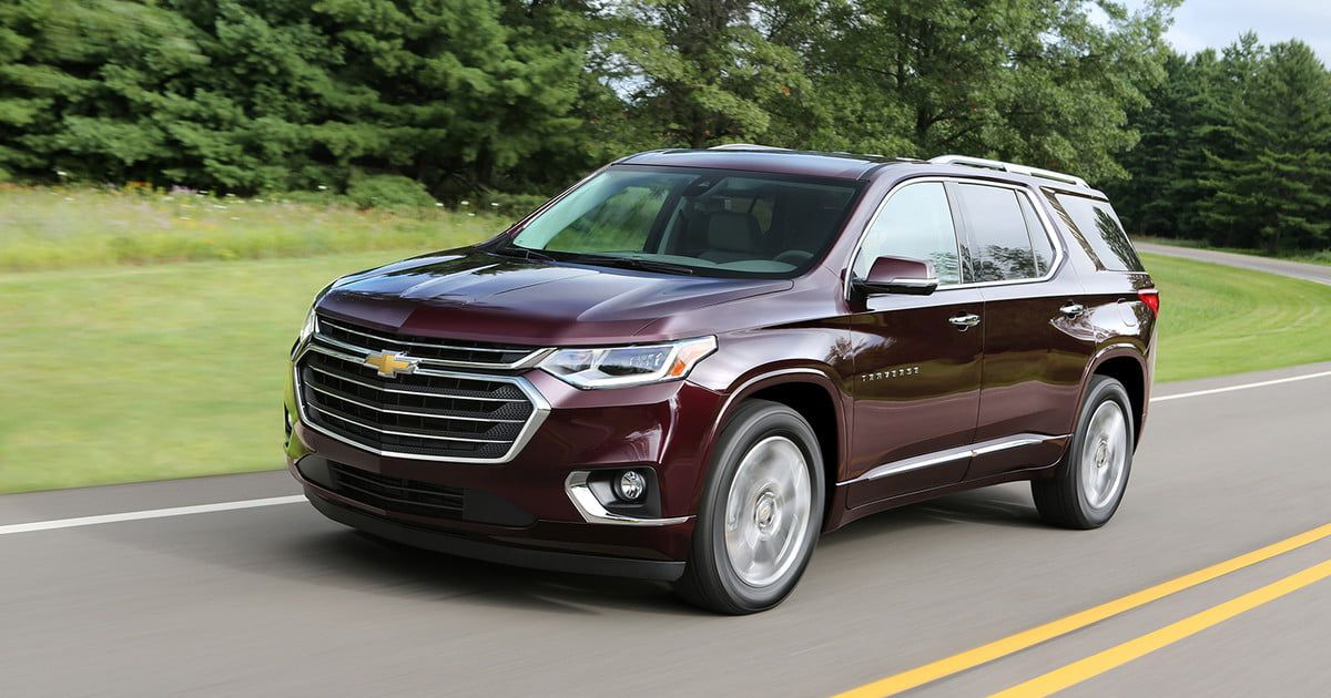 The 2018 Chevy Traverse Is Peak Crossover Suv Chevrolet Traverse