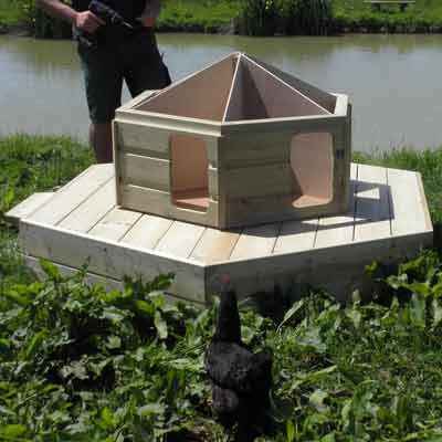 The Floating Duck Lodge from Flyte So Fancy Ltd