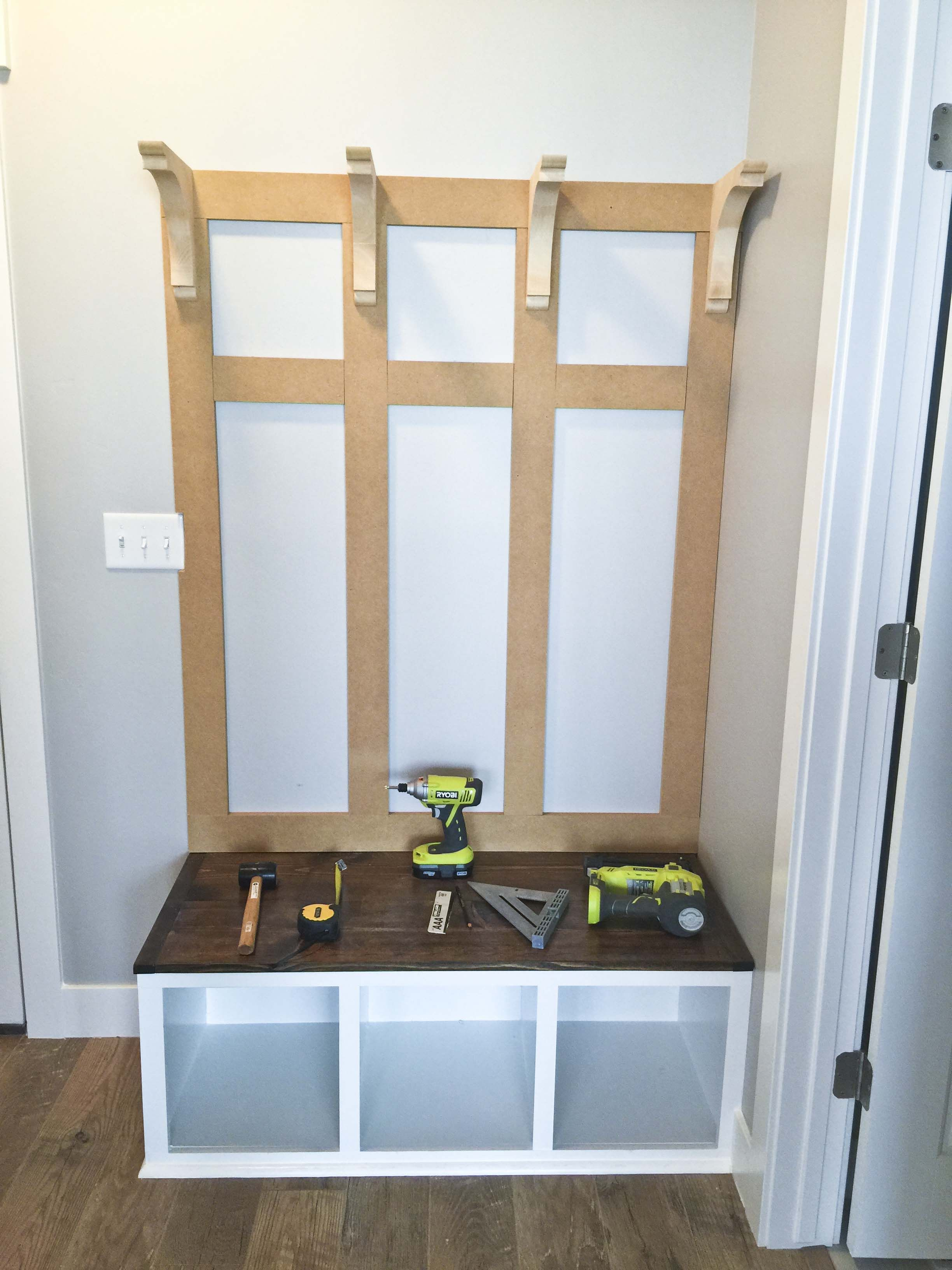 Room Design Free: Mudroom Bench Plans, Bench