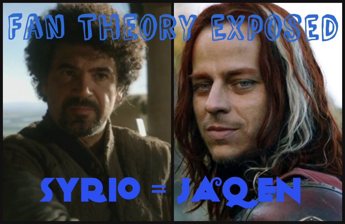 Syrio = Jaqen H'ghar = Faceless Man? Alive or Dead Theories