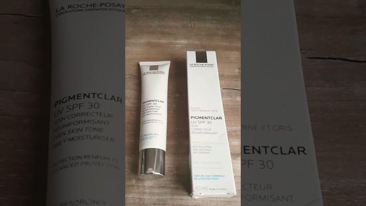 كريم ممتاز لعلاج الكلف و التصبغات و توحيد اللون منpigmentclar La Roche Posay Youtube