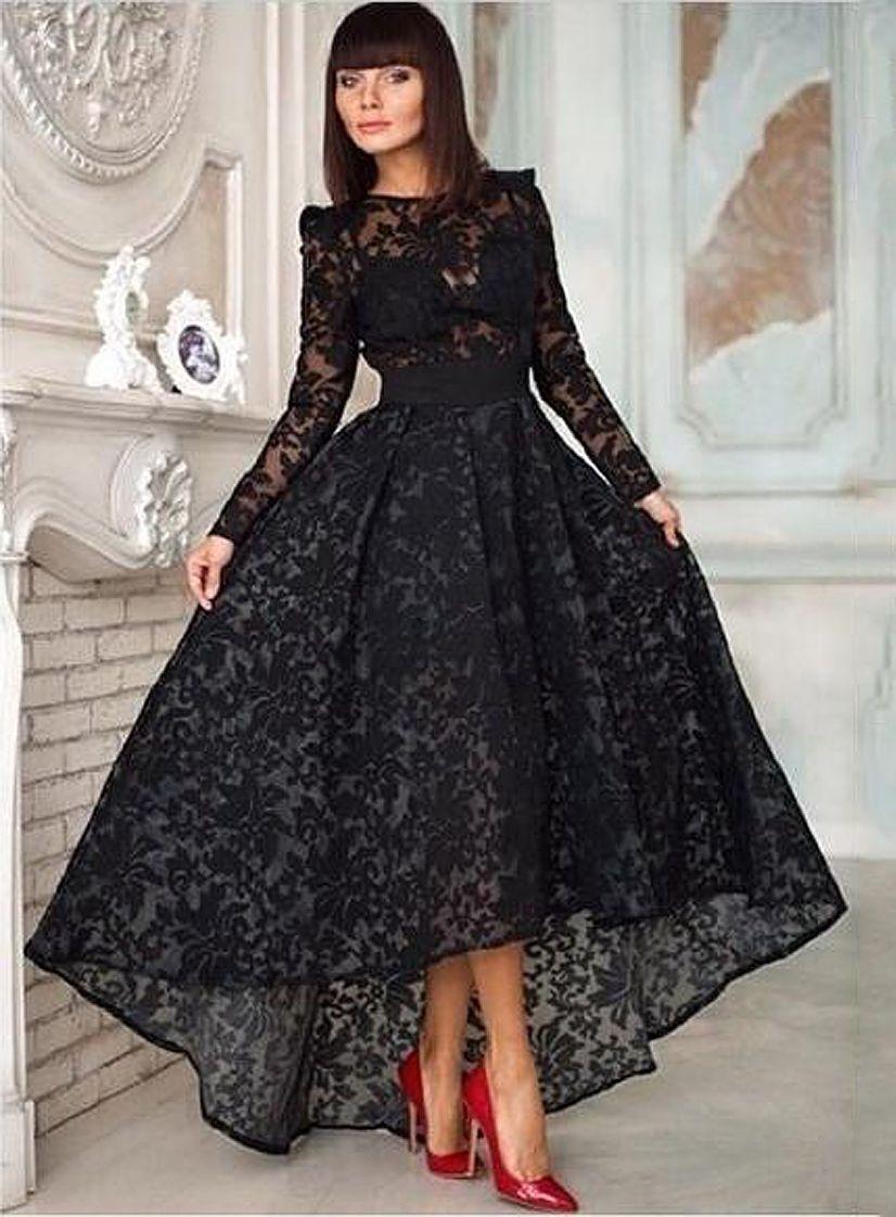 amandadress.com.au SUPPLIES Sexy Sweetheart Asymmetry Black Lace ...