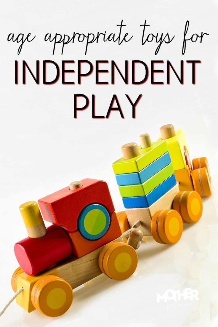 Age Appropriate Toys for Independent Play Time Preschool