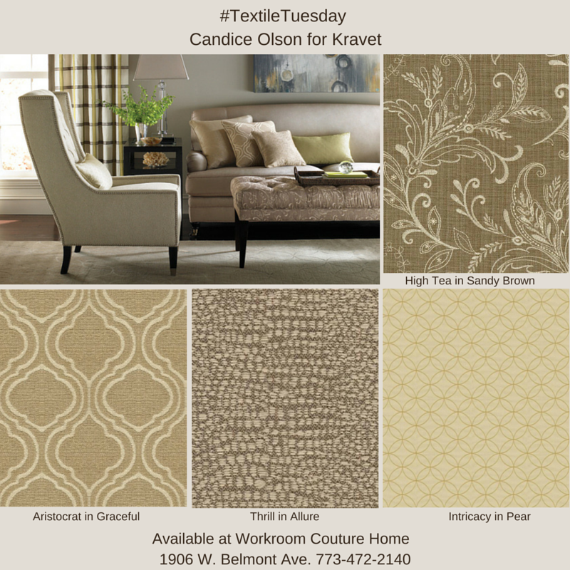 Candice Olson for kravet Fabric Collection. Available at