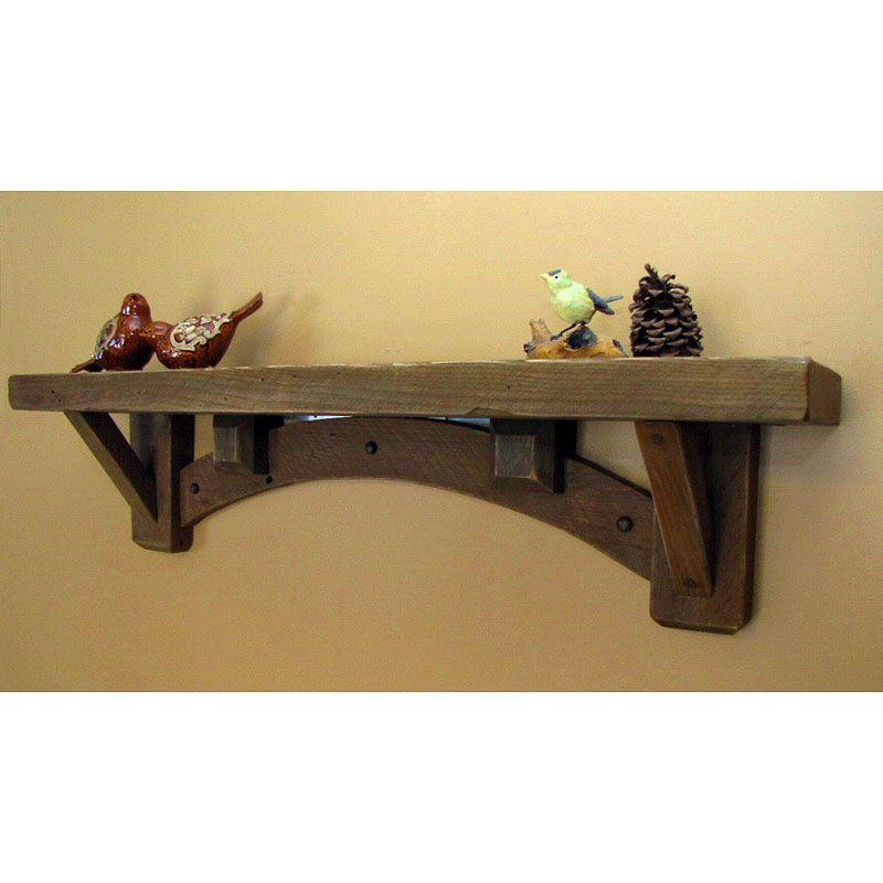 Do It Yourself Bookshelf Ideas: Arched Bridges Wall Shelf - SaddleBack Western