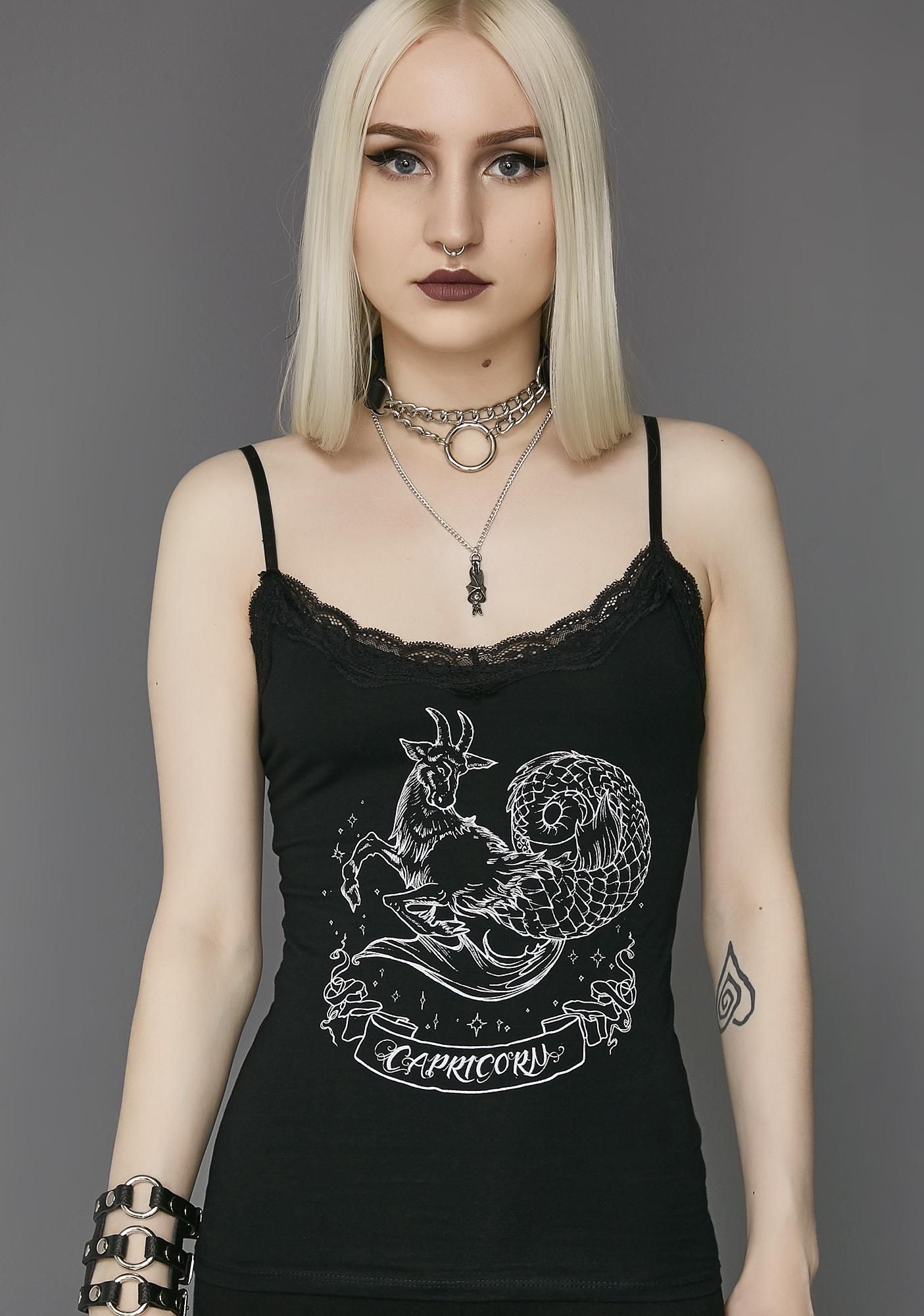 ff00993c97ad Widow Capricorn Cami Tank | Dolls Kill
