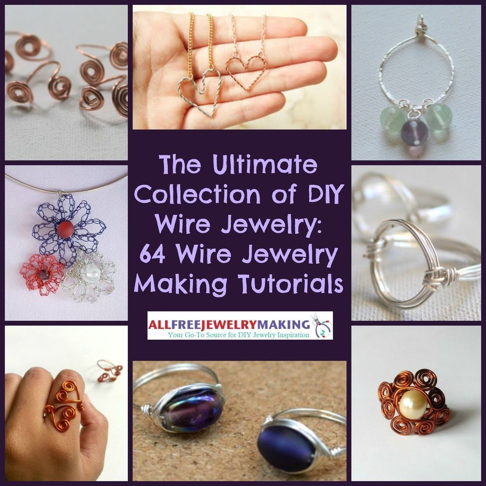 Photo of The Ultimate Collection of DIY Wire Jewelry: 116+ Wire Jewelry Making Tutorials