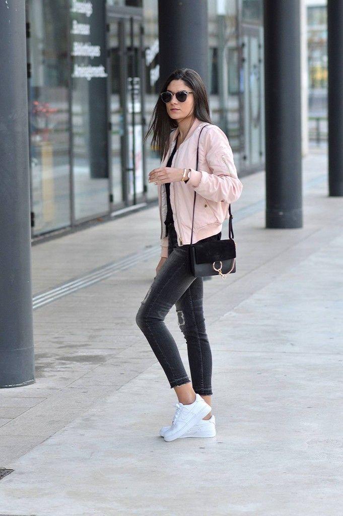 Mode Rose Look Cher Bomber Pas Tendance Idée 2016 Blog Printemps WfOzpaWqw