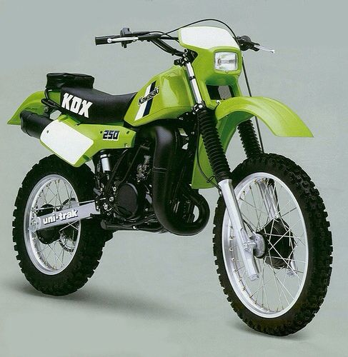 Kawasaki Kdx250 Kawasaki Did Go On To Develop The Kdx250 Water