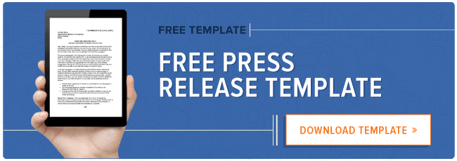 How To Write A Press Release Free Template  Sample  Pr Best