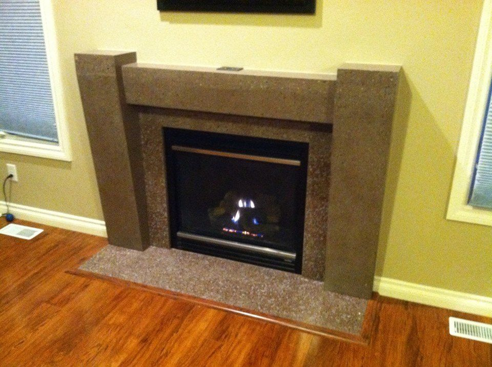 fan-made] F.G. Angelo & Sons created this fireplace surround ...