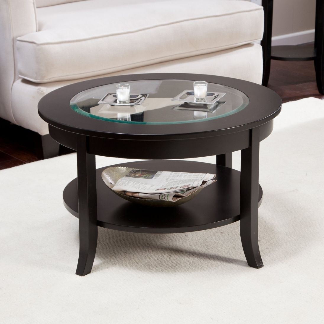 Glass Coffee Table Display Best Paint For Interior Check More At Http Www Buzzfolders Com Glass Co Coffee Table White Round Coffee Table Used Coffee Tables [ 1096 x 1096 Pixel ]