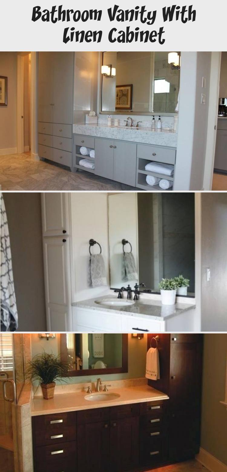 40++ Bathroom vanity and matching linen cabinet diy