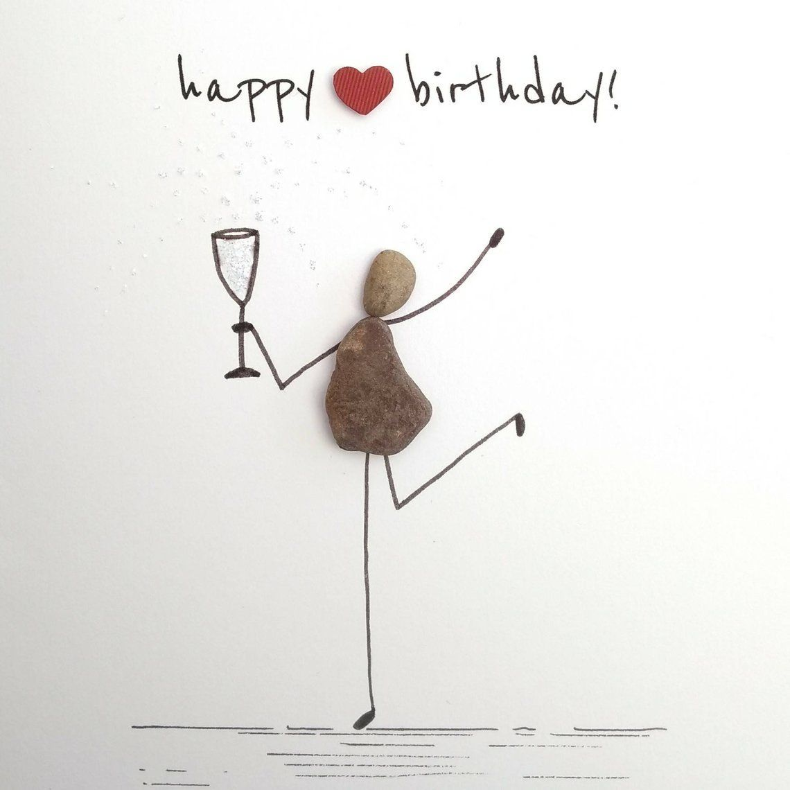 Best Totally Free Home Made Birthday Card Tips Purchasing You And Your Guests Interesting Thoughtful Or Even Exp In 2021 Pebble Pictures Pebble Art Pebble Art Family