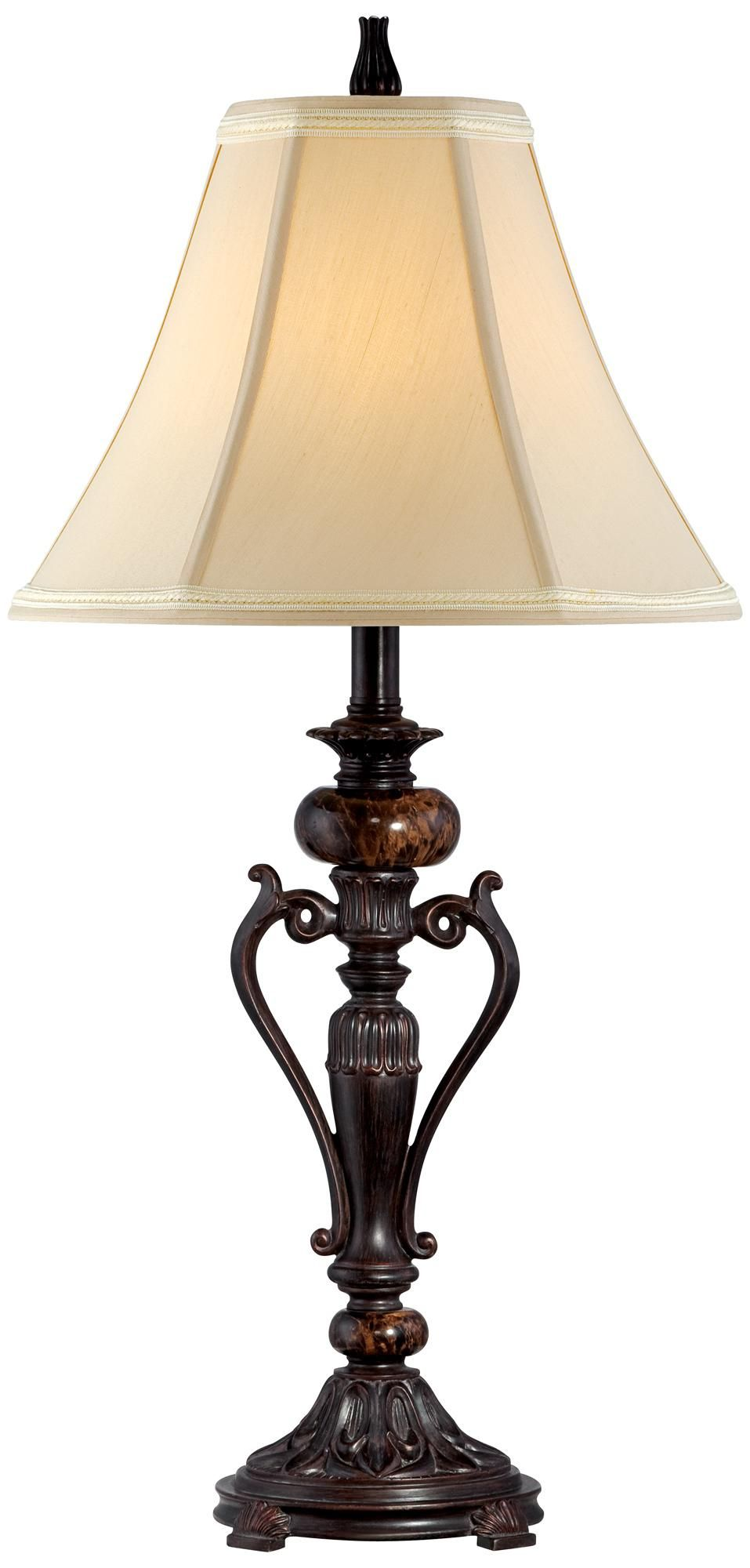 Kathy Ireland Amor Collection Accent Table Lamp In Bronze R9415