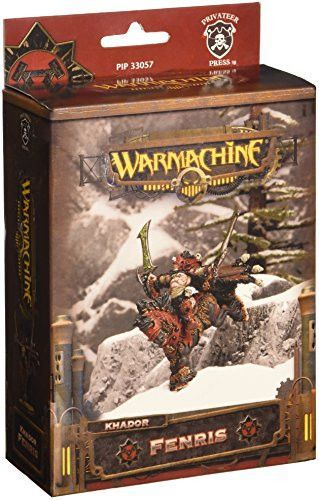 Privateer Press - Warmachine - Khador Fenris Dragoon Model Kit