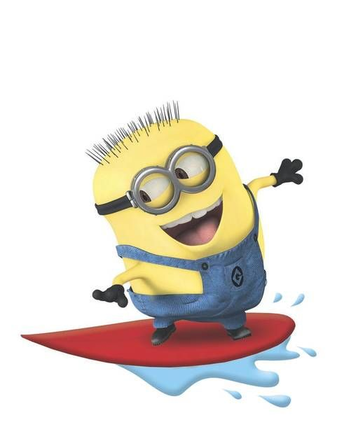 Surfing Minion There S No Way Not To Love These Guys
