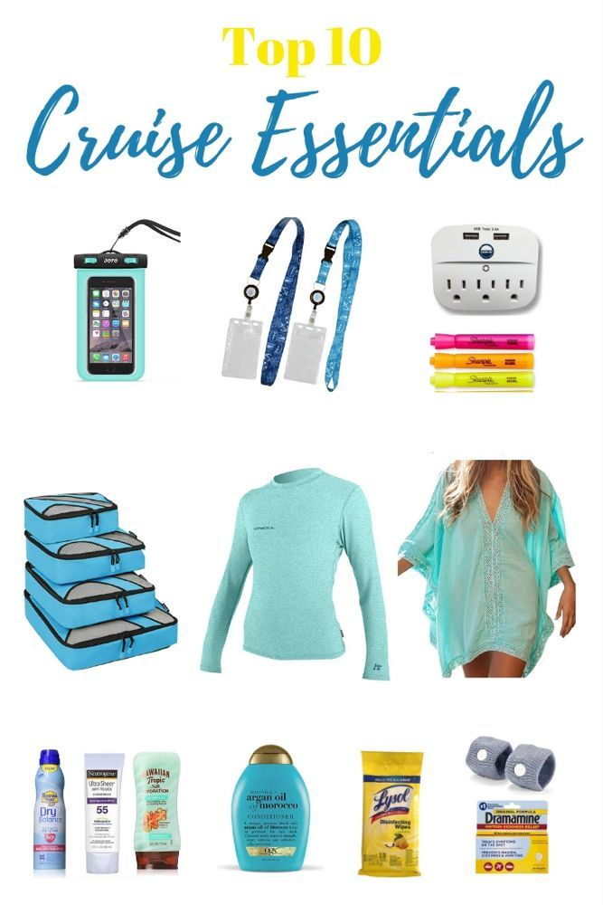 Cruise Essentials - 50 Brilliant Things to Bring on a Cruise #summercruiseoutfits Cruise Essentials - 50 Brilliant Things to Bring on a Cruise