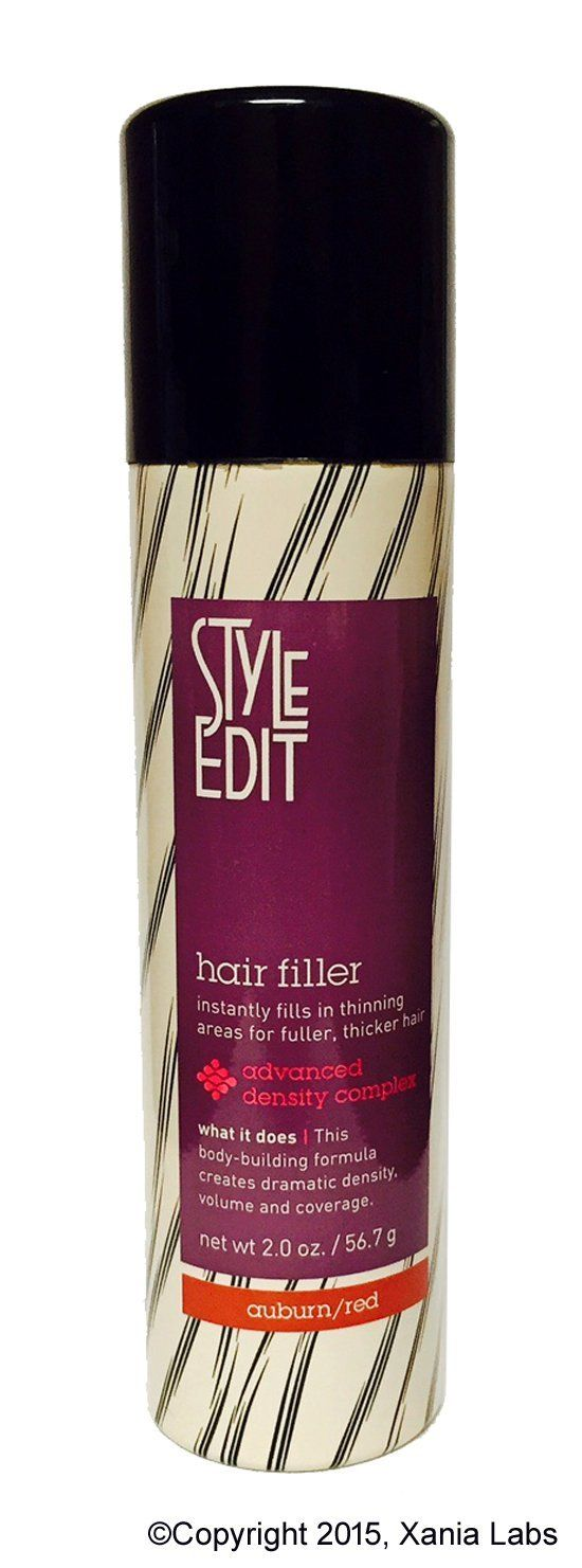 HAIR FILLER AUBURN RED 2oz By Style Edit Instantly Fills In