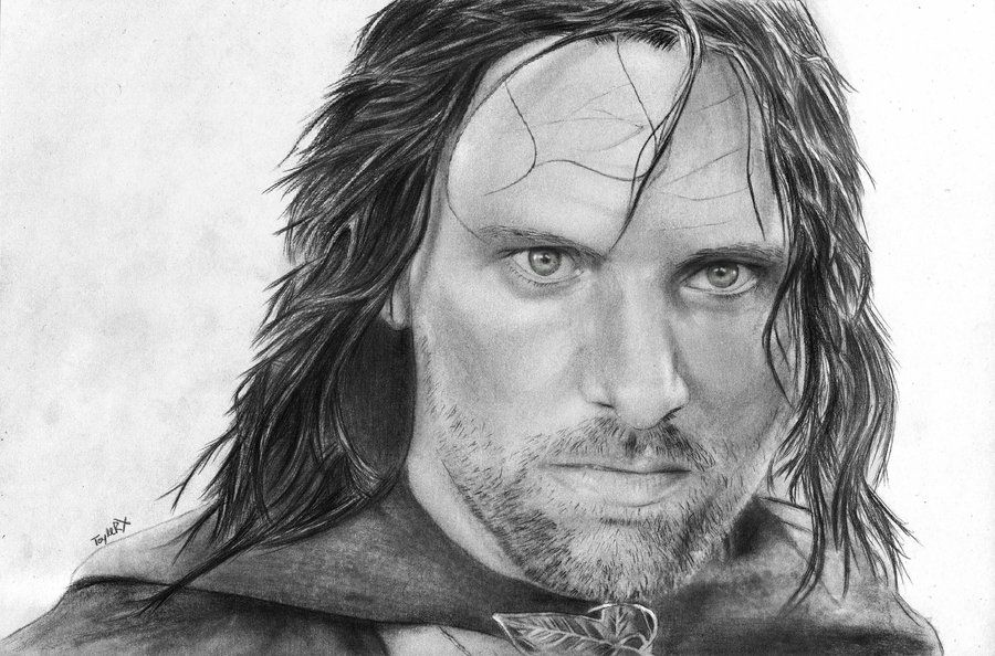 aragorn drawn by fans comment which one is your favorite | Beauty ...