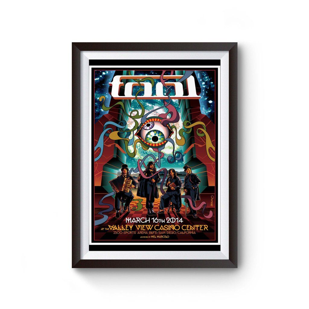 Tool Band 2019 Tour Poster Poster