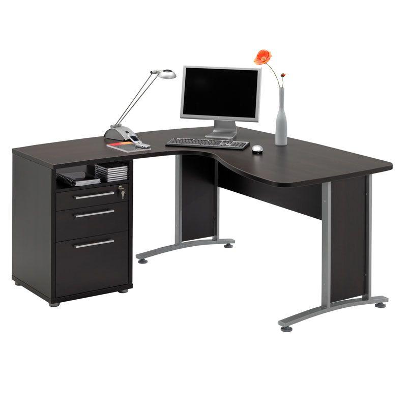 Prague L Shaped Desk File Modern Desks Eurway