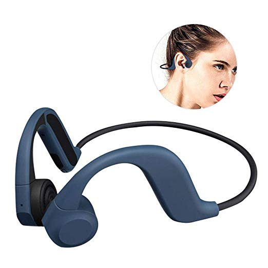 Amazon Com Foonee Bone Conduction Headphones X9 Non Ear Plug Open Ear Wireless Earphones Aptx Support Low Latency Swe In 2020 Headphones Earphone Wireless Headset