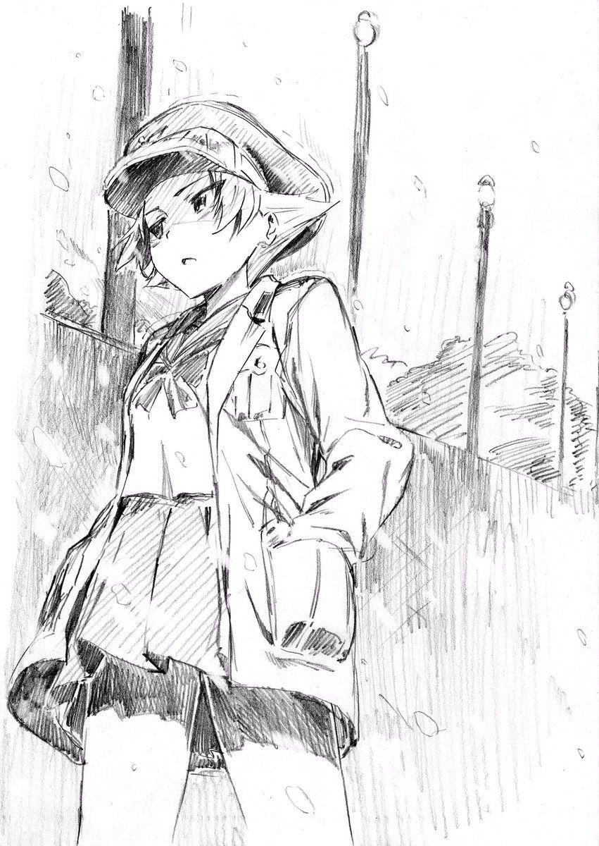 埋め込み画像 アニメスケッチ アニメの描き方 キャラクターデザイン