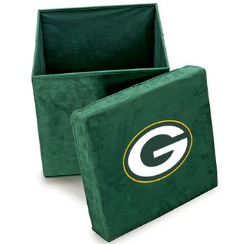 Green Bay Packers Ottoman at the Packers Pro Shop http://www.packersproshop.com/sku/2005223052/
