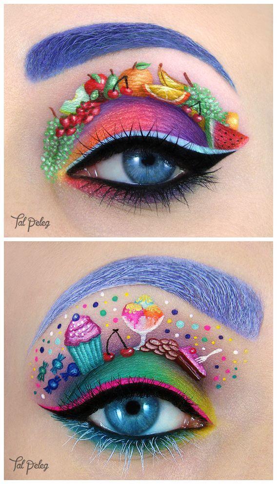Ihre Kiefer Fallen, Über Dieses Make-up-Künstler ' s Kleine Meisterwerke #makeupideas OP: … – Makeup Blog