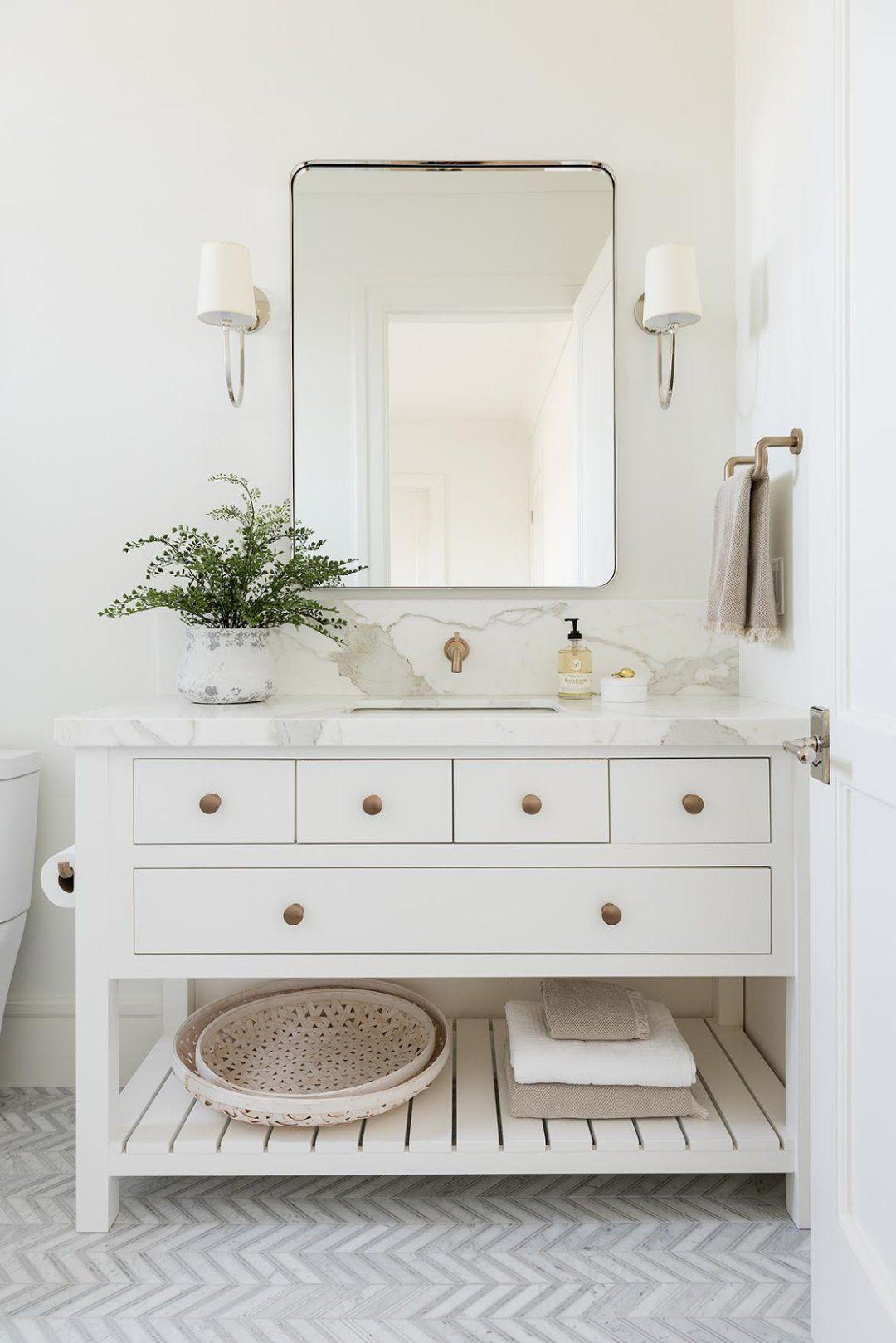 California Traditional Home Tour Bathroom Interior Bathrooms