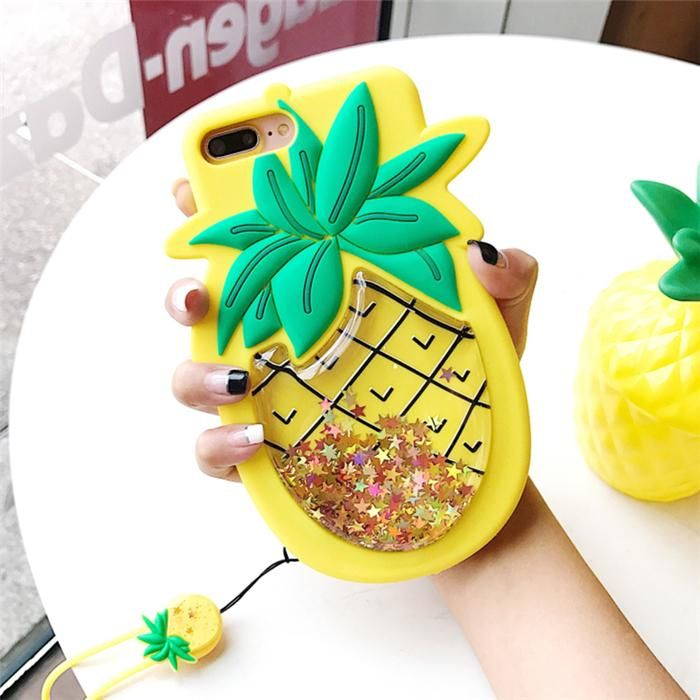 coque iphone 6 ananas silicone