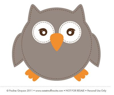 Animals For > Owl Template Printable | Arts And Crafts | Pinterest